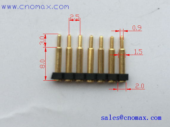 mill-max connector pin