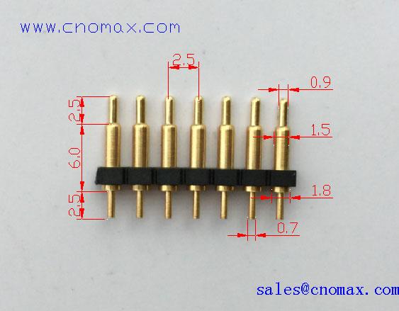 7PIN spring loaded pin