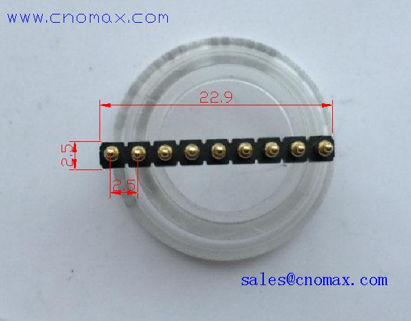 spring connector pin