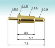 spring loaded pin